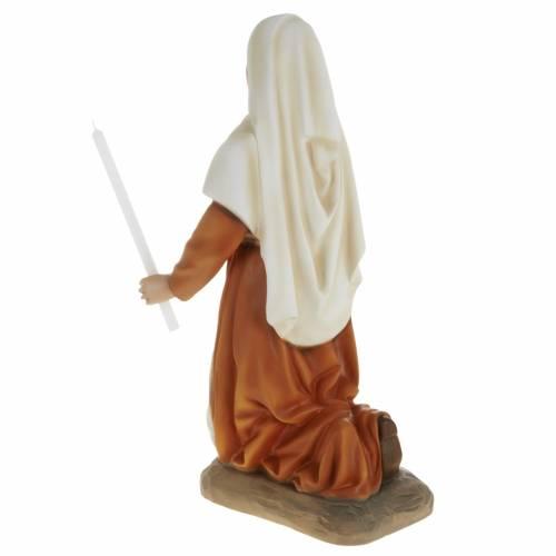 Statue Sainte Bernadette 63 cm fibre de verre s5