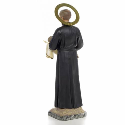 Statue St Gaétan 40 cm pâte à bois s3