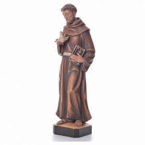 Statue in legno dipinto: San Francesco Assisi