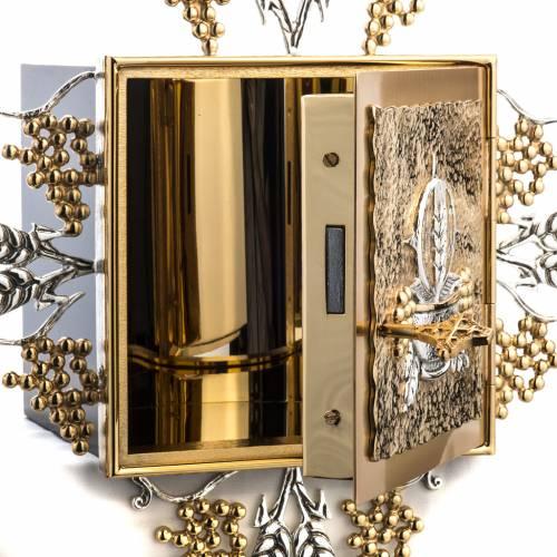 Tabernacle laiton fondu doré eucharistie s6
