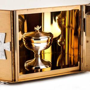 Tabernacles: Tabernacle with exposition of the Blessed Sacrament, cross