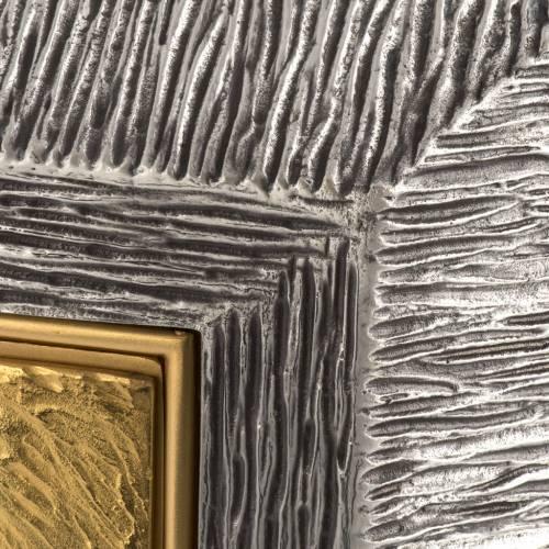 Tabernacolo Ultima Cena ottone, immagine bronzo s4