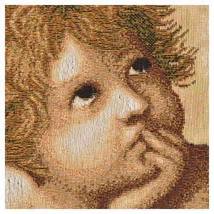 Tapestry Raphael's cherubs 50x65cm s2