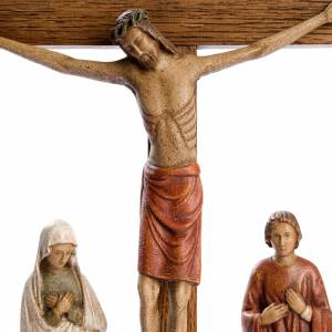 Wooden crucifixes: The Calvary