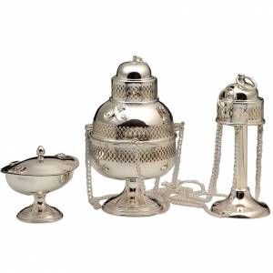 Thuribles and boats: Thurible and Boat in 800 silver
