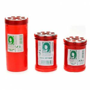 Votive candles: Traditional red  votive candle 20T-30T-40T