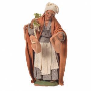 Traveller with amphorae, Neapolitan Nativity 10cm s1