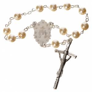Rosaires de dévotion: Trisagio idente faux perles image Marie
