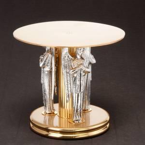 Bases pour ostensoir, trônes: Trône avec 4 anges