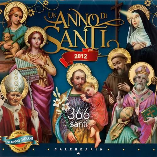 Une année de saints, calendrier 2012 ITALIEN s1