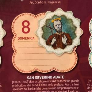 Une année de saints, calendrier 2012 ITALIEN s5