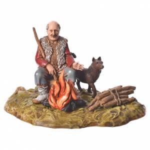 Uomo con fuoco 10 cm Moranduzzo s1