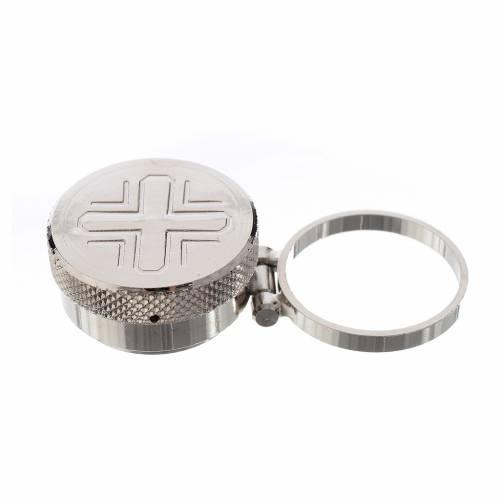 Vasetto mignon per oli sacri con anello s1