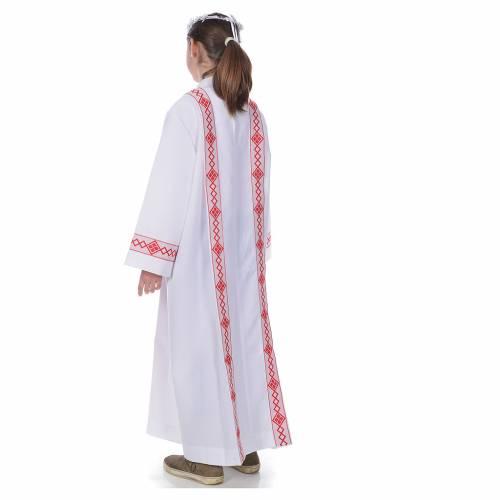 Vestido con bordes para Primera Comunión s3