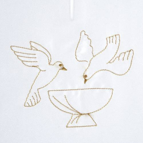 Vestina battesimo colombe fonte battesimale s2