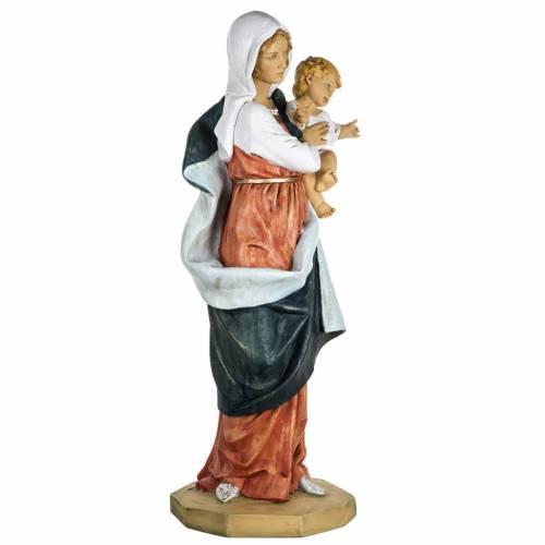 Vierge à l'enfant 100 cm résine Fontanini s4