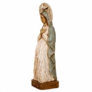 Vierge de l'Avent pierre 57 cm s2