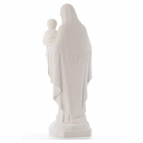 Vierge de la Consolation marbre reconstitué 80cm s3