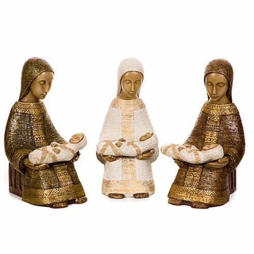 Vierge Nativité Paysanne avec enfant s1