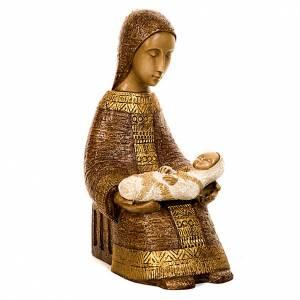 Vierge Nativité Paysanne avec enfant s5