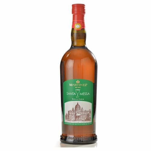 Vin de messe blanc doux Martinez s1