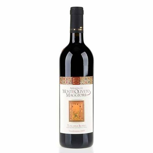 Vin de Toscane rouge 2009 Abbaye Monte Oliveto 750 ml s1