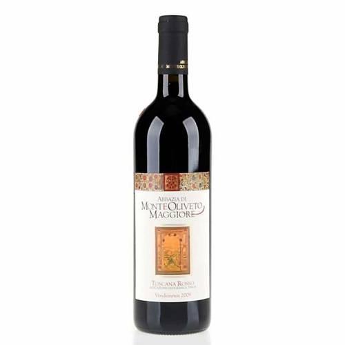 Vino Toscana Rojo 2009 Abadía de Monte Oliveto 750ml s1