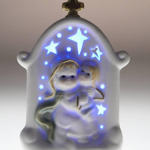 Virgen con niño cerámica s7