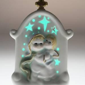 Virgen con niño cerámica s6
