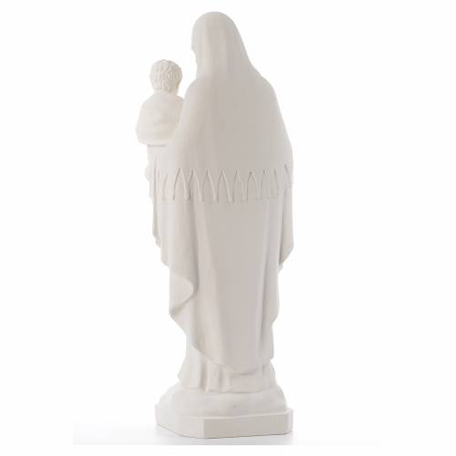 Virgin of the consolation statue, 80 cm in marble dust s3