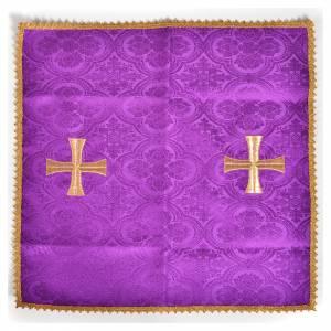 Voile de calice croix dorée s5