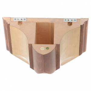 Wall bracket for statues in wood from Valgardena s4