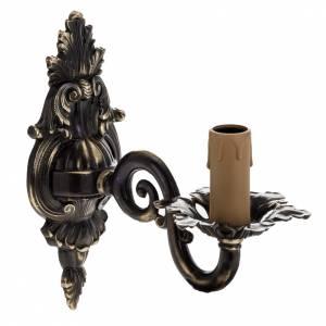 Lampen und Lanternen: Wandlampe mit einem Arm, antiquiert