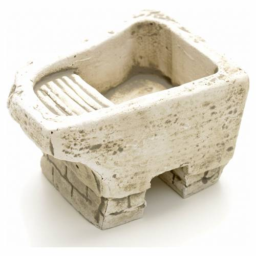 Washtub in plaster for nativities s2