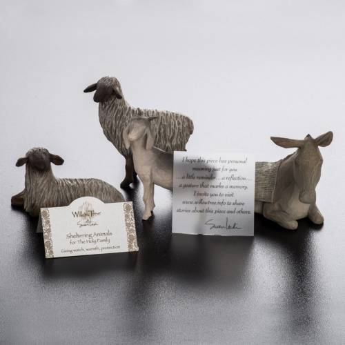 Willow Tree - Sheltering Animals for Holy Family (animaux) s7