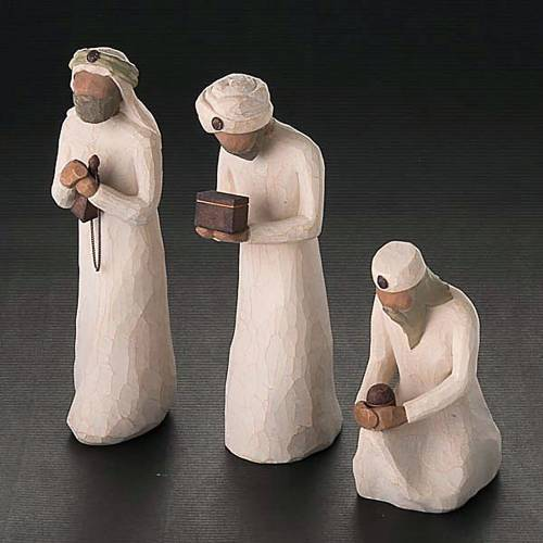 Willow Tree - The Three Wisemen (los 3 Reyes Magos) 3
