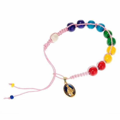 Wooden beads rope bracelet s3