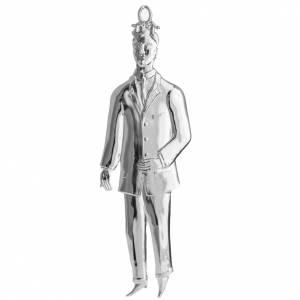 Wota błagalne i dziękczynne: Wotum mężczyzna srebro 925 lub metal 21 cm
