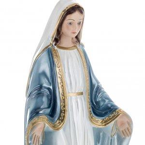 Heiligenfiguren aus Gips: Wundertätige Madonna 40 cm Gips perlmuttfarben