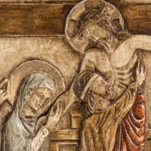 XIII estación Vía Crucis piedra Bethléem s2