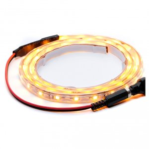 Control units and accessories for Nativity Scene: Yellow led strip 1 m 30 led with connector