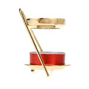 Incense burners: Zed  shape tealight incense burner