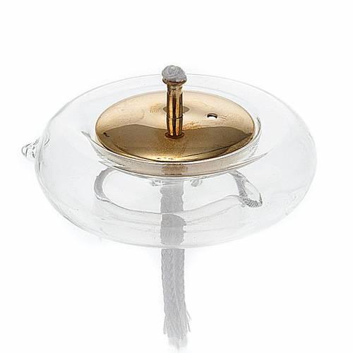 Flotante para cera líquida de vidrio y latón s1