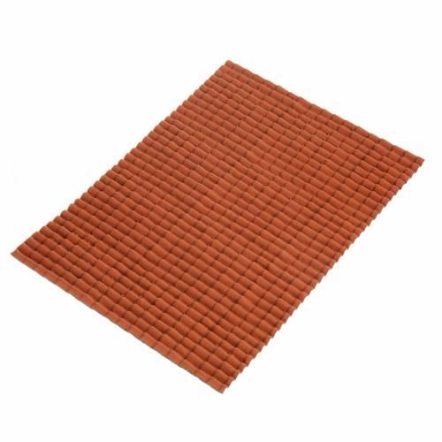 Accessoire crèche plaque pour toit en tuiles s1
