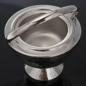 Acetre para benedición de latón niquelado martilla s2