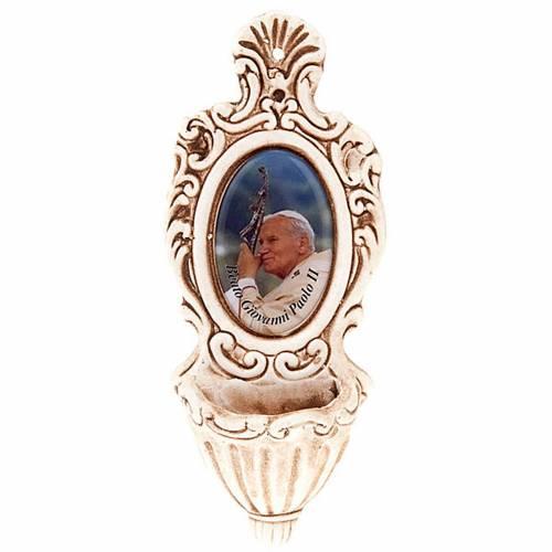 Acquasantiera Giovanni Paolo II s1