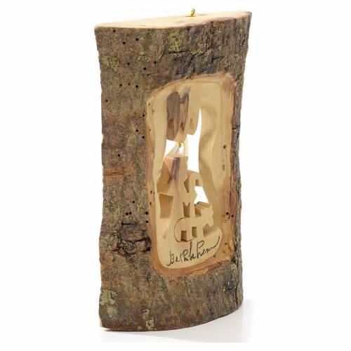 Adorno árbol olivo Tierra Santa tronco pastor s2