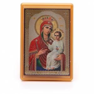 Magnets religieux: Aimant plexiglas Russie Libératrice 10x7 cm