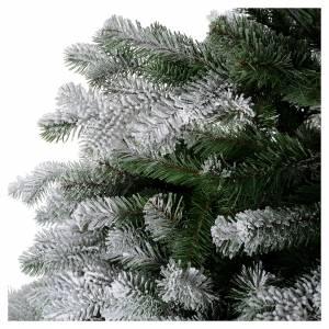Albero di Natale 180 cm Poly floccato glitter Sheffield s4