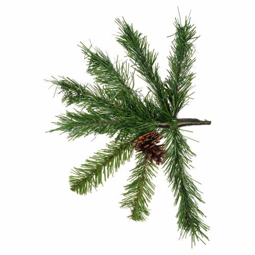Albero di Natale 180 cm verde slim Tallinn s3